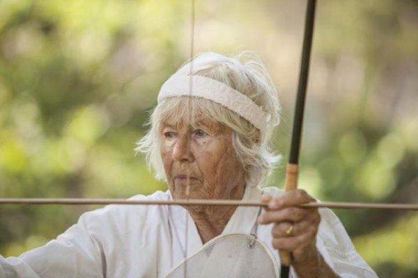 040-Bodhihanna-with-bow-and-arrow-Denise-M-Reynolds