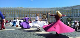 Sufi whirling in St. Petersburg