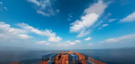 Stunning 30-day time-lapse taken from a cargo ship