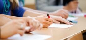 The school exam