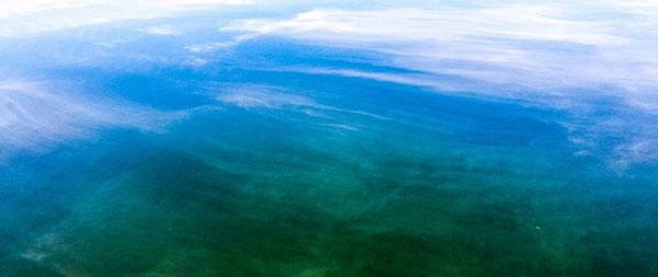 Water and Sky by Sanjiva