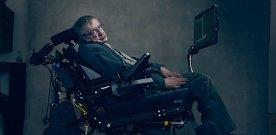 Stephen Hawking as his PhD thesis goes online