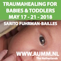 Trauma Healing for Babies and Toddlers, with Sarito, 17-21 May 2018