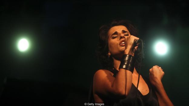 Fado singer