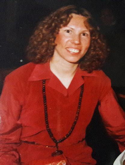 Nisha in Pune, circa 1978
