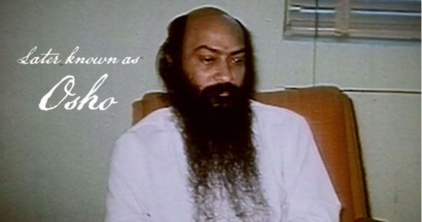 Osho footage in Wild Wild Country