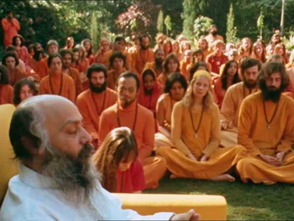 Netflix [satsang on the lawn, Pune ca. 1975]
