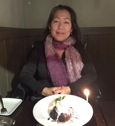 64th birthday, March 2018
