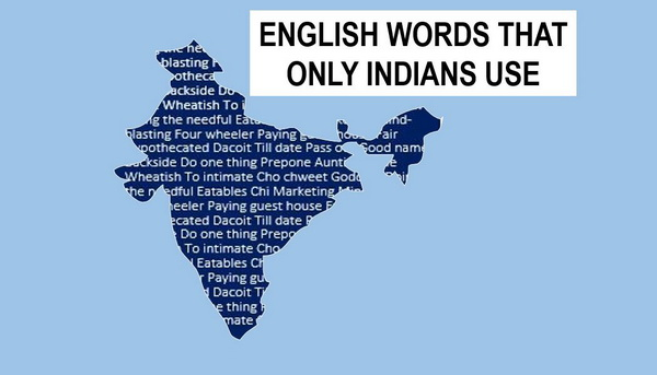 Image result for English words used only by Indians
