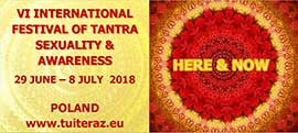 VI International Festival of Tantra, Sexuality  & Awareness in Poland