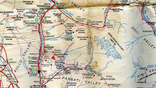 Location Malana Village