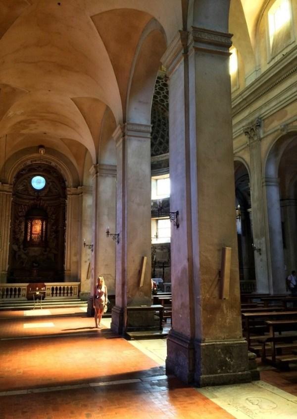 Inside S. Maria della Consolazione