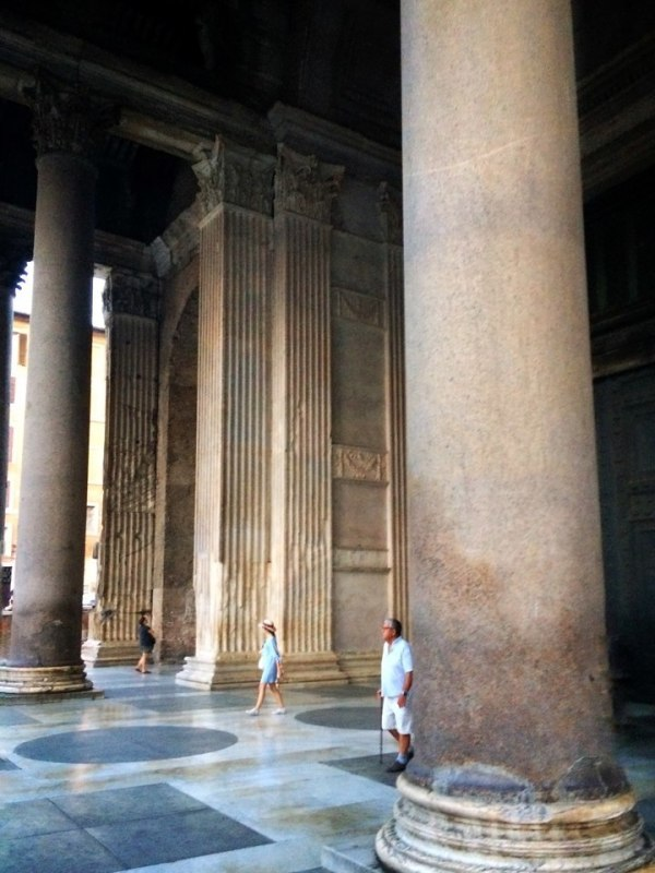 The epic scale of Rome at the Pantheon