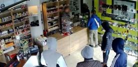 Six robbers in Belgium