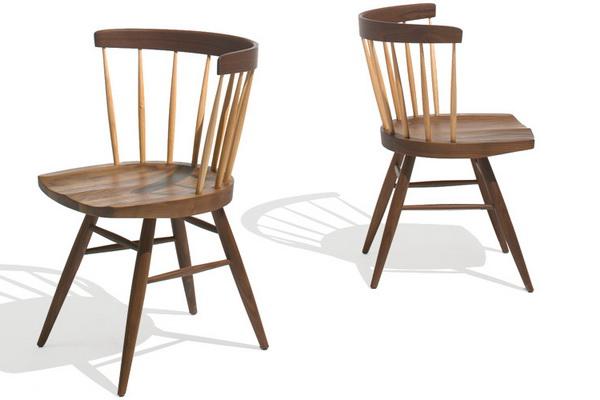 Nakashima Knoll straight chair