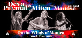 Deva Primal & Miten with Manose - 2019 Tour