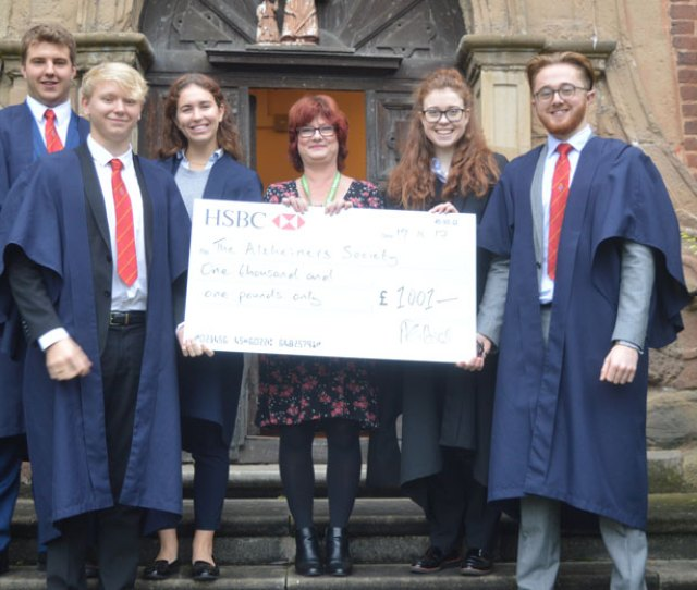 Osh Raises Funds For Alzheimers Charity