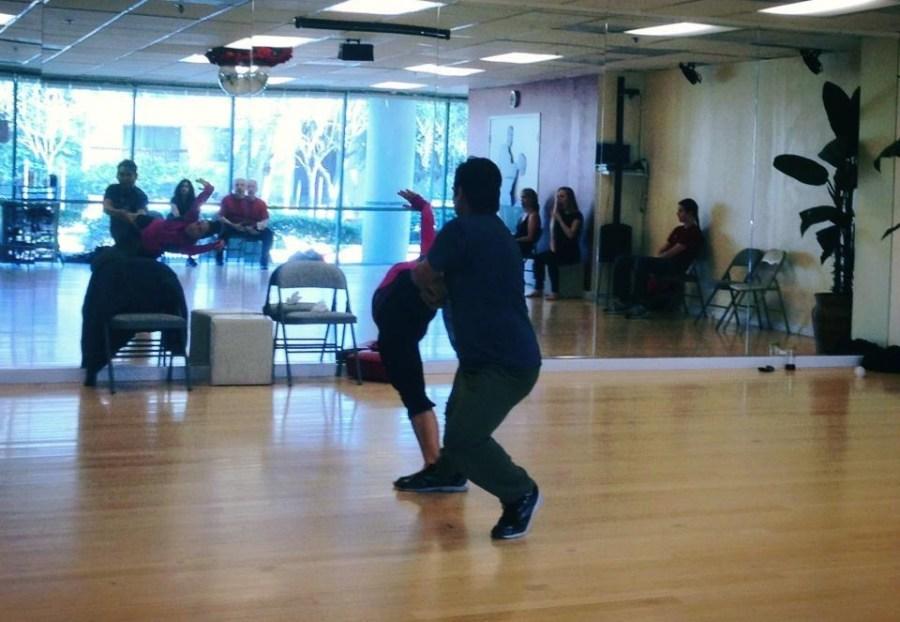 Ensayos de Las Alas de OshunRehearsal of the show The Oshun Wings Creator creadora Director Coreography dancers Bailarina Profesional show Maritza Rosales 13
