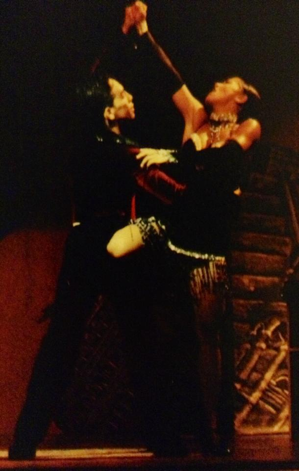 Maritza Rosales Bailarina Instructora Coreografa Profesional en Bailes Populares y de Salon Ritmos Cubanos y Latinos Rumba Mambo Salsa Merengue Cumbia 042