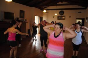 Boombafro Master Class por Maritza Rosales Bailarina Instructora Coreografa Creadora y Directora Profesional de este estilo de clase AfroCubano Latino Cardio Tonificacion Yoga Meditacion 019