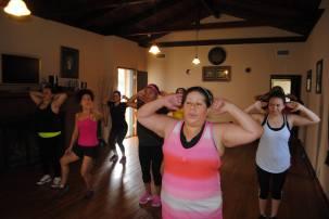 Boombafro Master Class por Maritza Rosales Bailarina Instructora Coreografa Creadora y Directora Profesional de este estilo de clase AfroCubano Latino Cardio Tonificacion Yoga Meditacion 021
