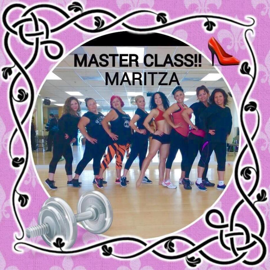 Boombafro Master Class por Maritza Rosales Bailarina Instructora Coreografa Creadora y Directora Profesional de este estilo de clase AfroCubano Latino Cardio Tonificacion Yoga Meditacion 043