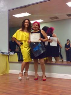 Aniversario Oshun Wings Certificado de Boombafro master class Directora fundadora Maritza Rosales 26