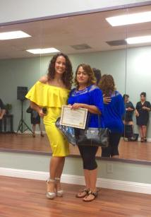 Anniversary Oshun Wings Certificate de Boombafro master class Director founder Maritza Rosales 19