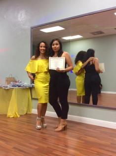 Anniversary Oshun Wings Certificate de Boombafro master class bailarina coreografa profesional Maritza Rosales 21