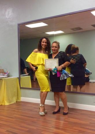 Anniversary Oshun Wings Certificate de Boombafro master class bailarina coreografa profesional Maritza Rosales 26
