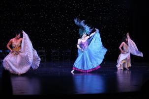 Shows para eventos fiestas aniversarios espectaculos festivales congresos bailarina y coreografa profesional Maritza Rosales Oshun Wings 50
