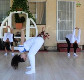 clase privada de Yoga postura y meditacion instructora Maritza Rosales Bailarina Coreografa Fundadora y Directora de Oshun Wings Dance Art and Entertainment 006