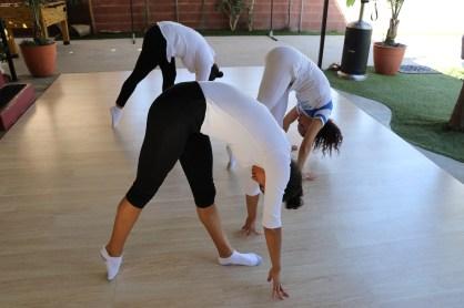 clase privada de Yoga postura y meditacion instructora Maritza Rosales Bailarina Coreografa Fundadora y Directora de Oshun Wings Dance Art and Entertainment 020