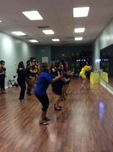 fiesta, clases animacion boombafro master class coreografa cubana coreographer professional dancer students bailando dancing Maritza Rosales 16