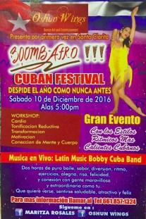fiesta, clases animacion boombafro master class coreografa cubana coreographer professional students Maritza Rosales 12