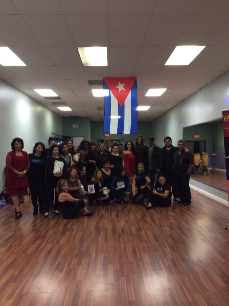 fiesta, clases animacion boombafro master class coreographer professional students Maritza Rosales 11