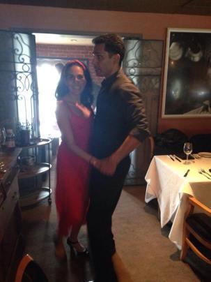 salsa dancer maritza rosales comercial shoot director roman wyden producer alex solomons wyden creable films mirj gschwind 18