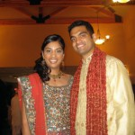 Congratulations to Poonam and Ameet