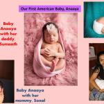 Our First American Baby