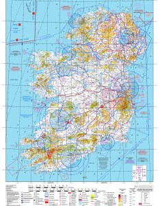 Aeronautical chart scale ireland abcd edition information date st june topographical  also charts rh osi