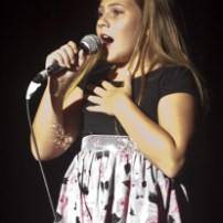 Claire Bassett sang 'Broadway Baby'