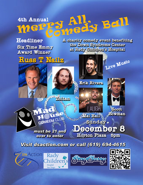 "4th Annual ""Merry All, Comedy Ball"" for Down syndrome"
