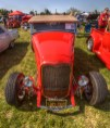 1932 Chevy Roadster with 355ci engine. Owned by Bill Britson