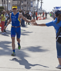 3rd place finisher Sebastian Kienle with a time of 3:53:21