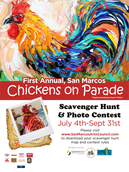 chicken-on-parade-poster