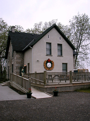 Canada's Baseball Hall of Fame is housed in a former company house that was built in 1868 in St. Mary's Ontario, a comfortable little community about two hours east of the international border crossing at Detroit. Photo:  Cecil Scaglione
