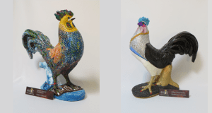 chickens on parade