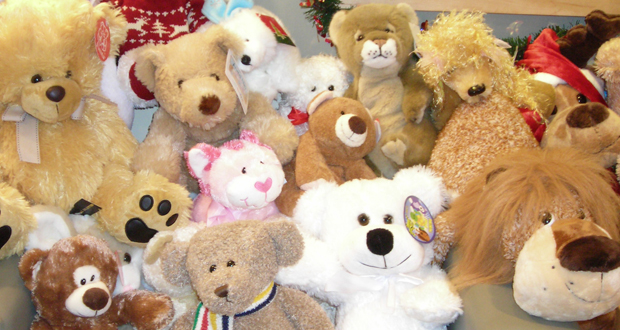Annual teddy bear drive begins
