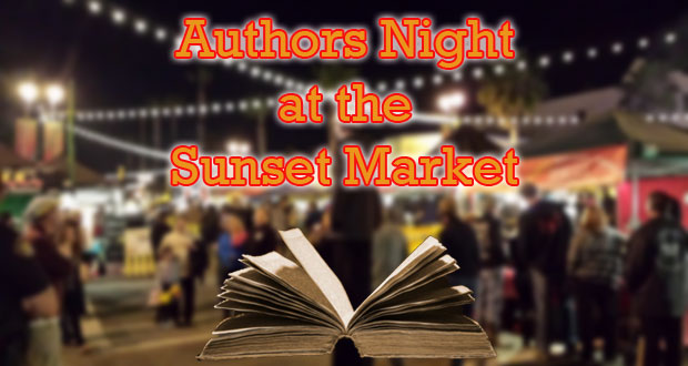 Authors Night at Sunset Market
