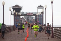 10k runners got to enjoy a run down the pier